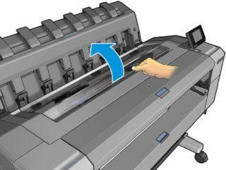 Как заменить печатающую головку в плоттерах HP T930, HP T1530